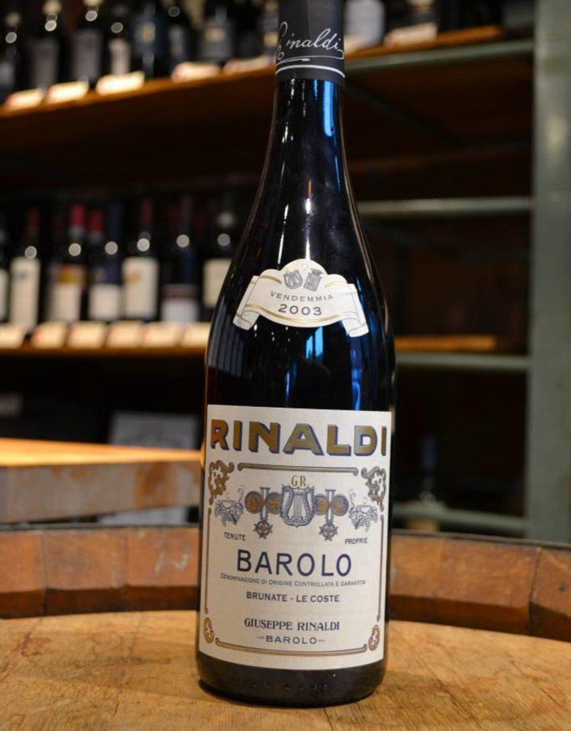 Giuseppe Rinaldi Giuseppe Rinaldi Barolo Brunate-Le Coste 2003