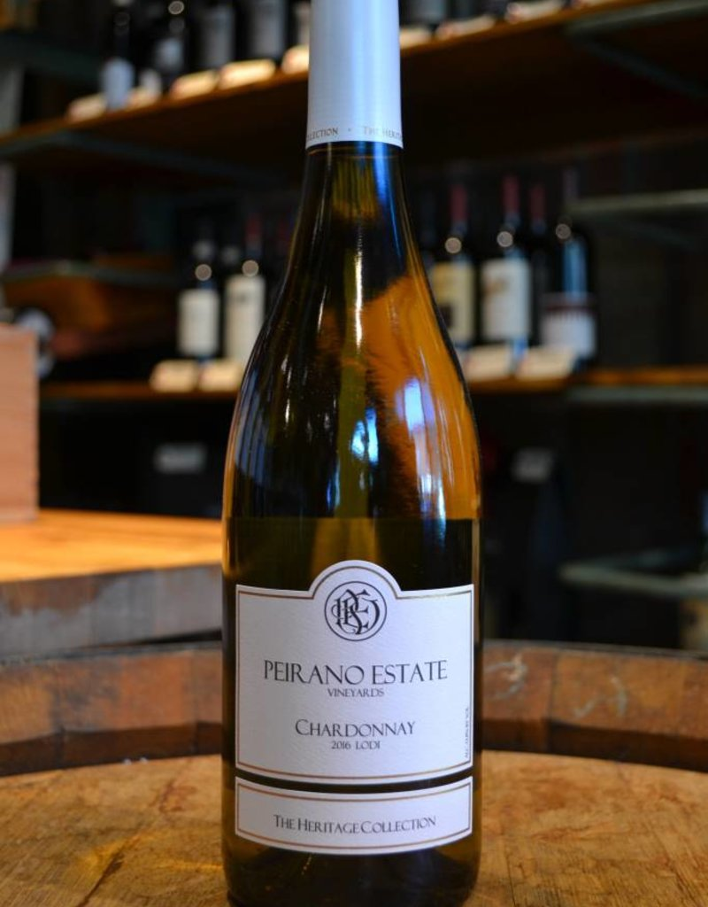 Peirano Estate Lodi Chardonnay The Heritage Collection  2016