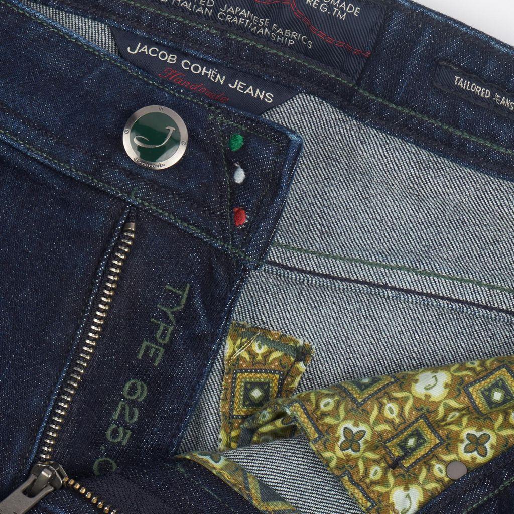 Handmade Jacob Cohen Jeans, Dark Wash