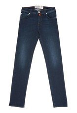 Handmade Jacob Cohen Comfort Stretch Jeans, Dark Wash