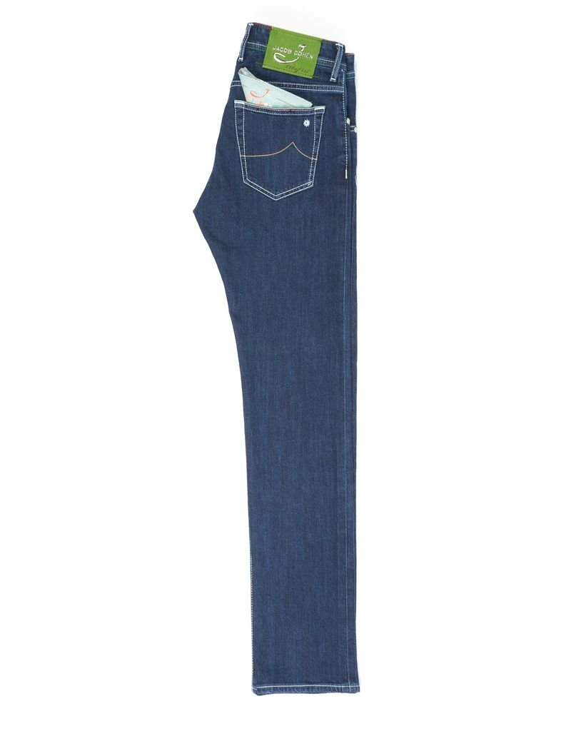 Handmade Jacob Cohen Limited Edition Jeans, Medium Wash