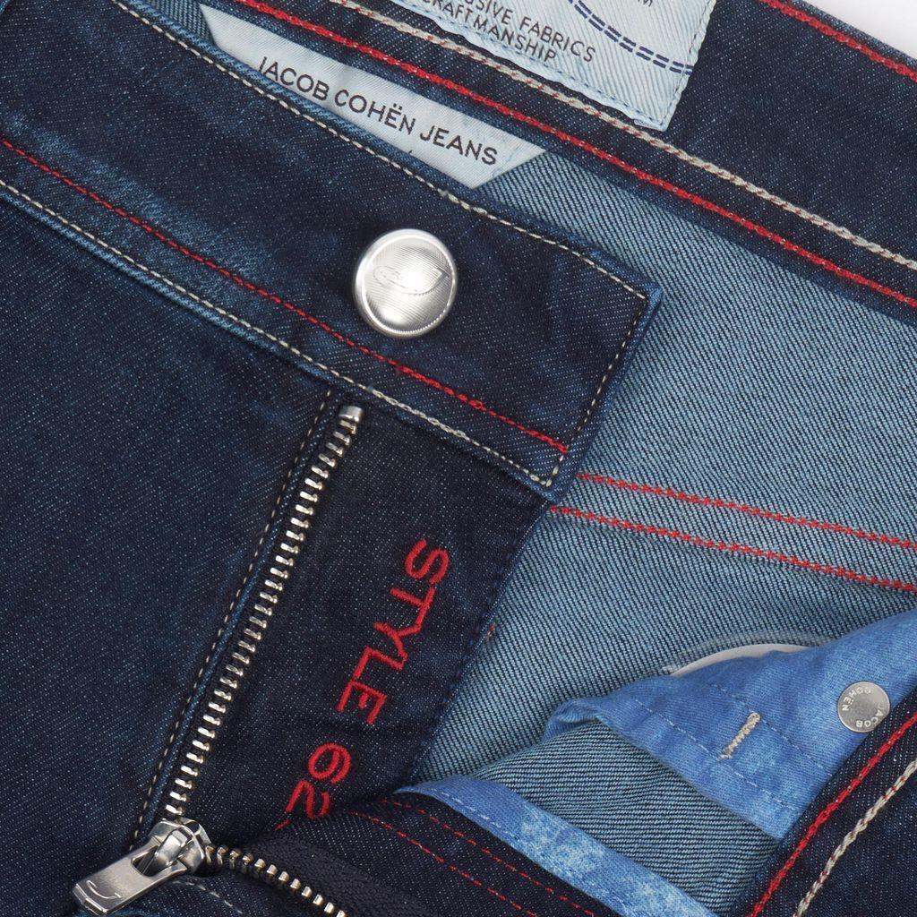 Handmade Jacob Cohen Jeans, Medium Dark Wash