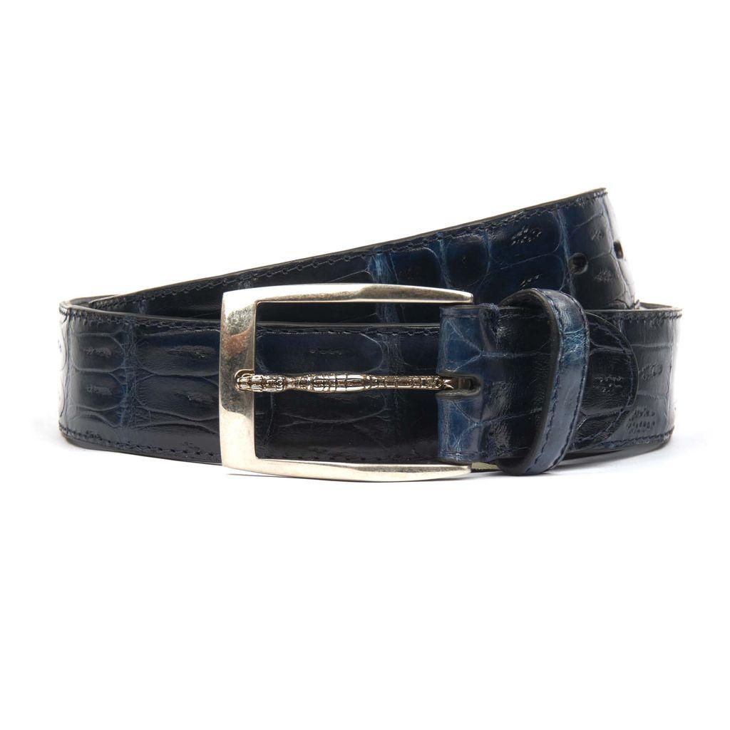 Blue Crocodile belt