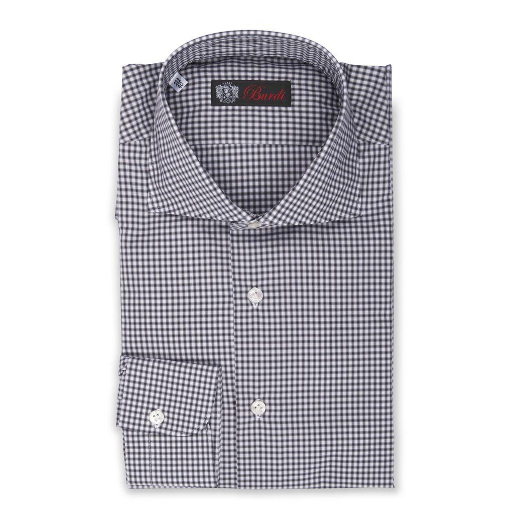 Black & White Gingham Shirt
