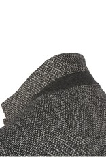 Charcoal Short Tweed Coat