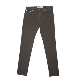 Jacob Cohen Velour Five-pocket Pants, Mocha