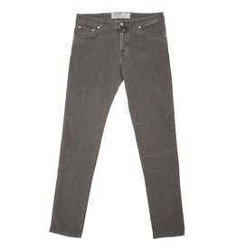 Jacob Cohen Velour Five-pocket Pants, Gray