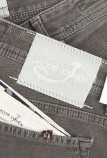 Jacob Cohen Velour Five-pocket Pants, Gray