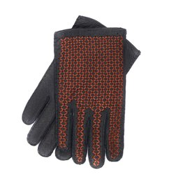 Peccary Braided Leather Gloves