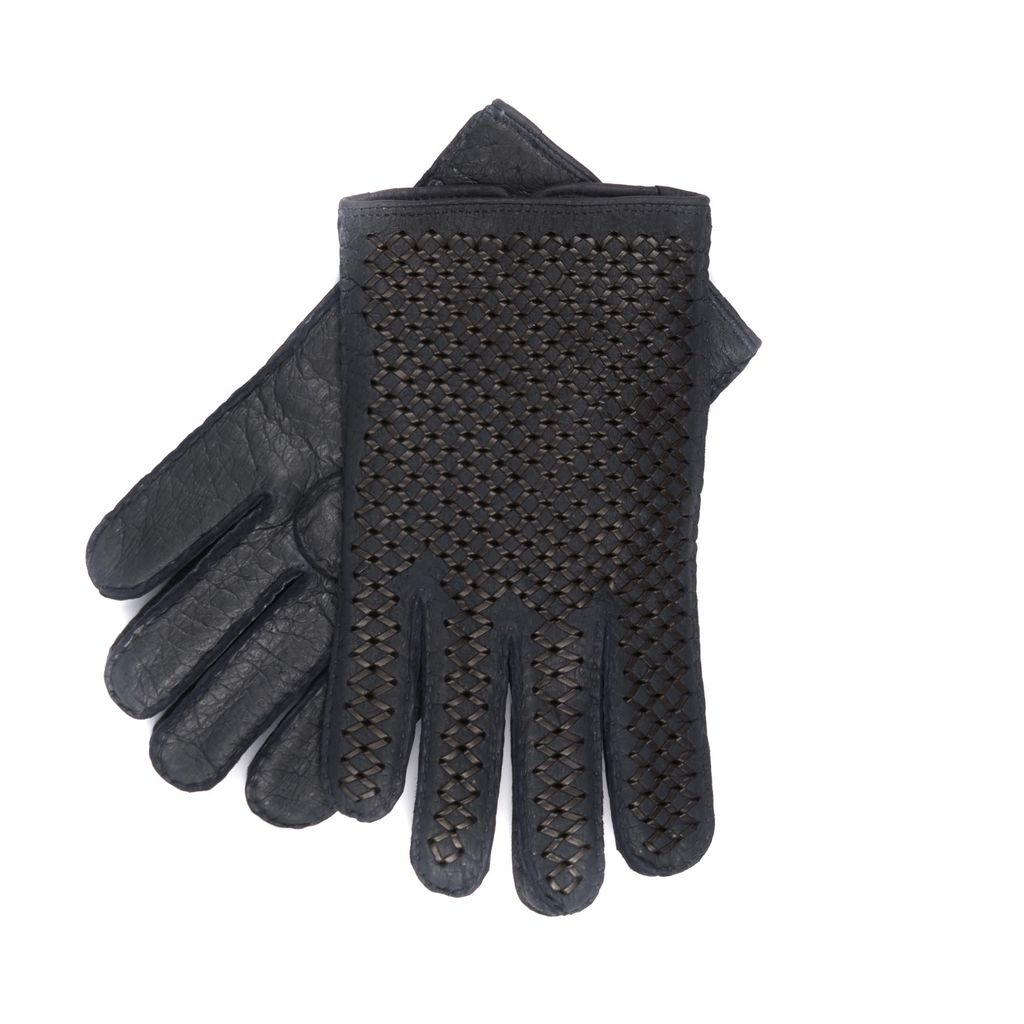 Peccaray Braided Leather Gloves