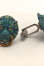 Lion Door Knocker Cufflinks