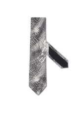 Crocodile print 100% Satin Silk Tie