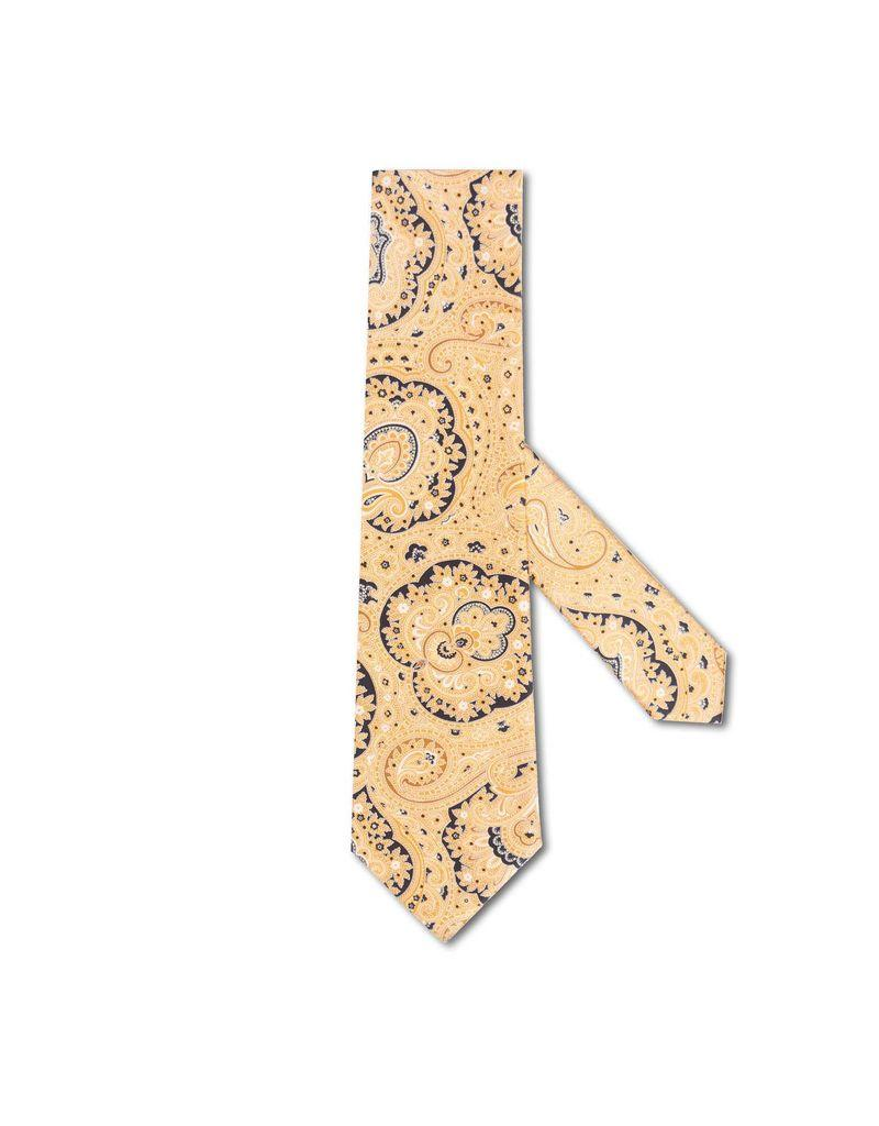 Gold and Yellow Paisley Tie, 8.5cm