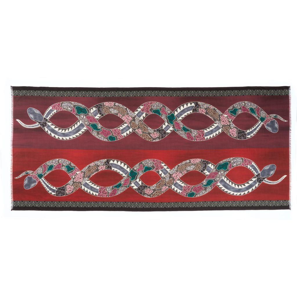 Cashmere Featherweight - Intertwined Snake