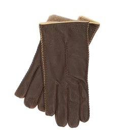 Deerskin Gloves with Cashmere Lining