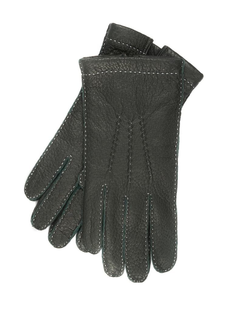 Peccary Leather, Cashmere Lined Gloves
