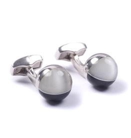 Black and White Sphere Cufflinks