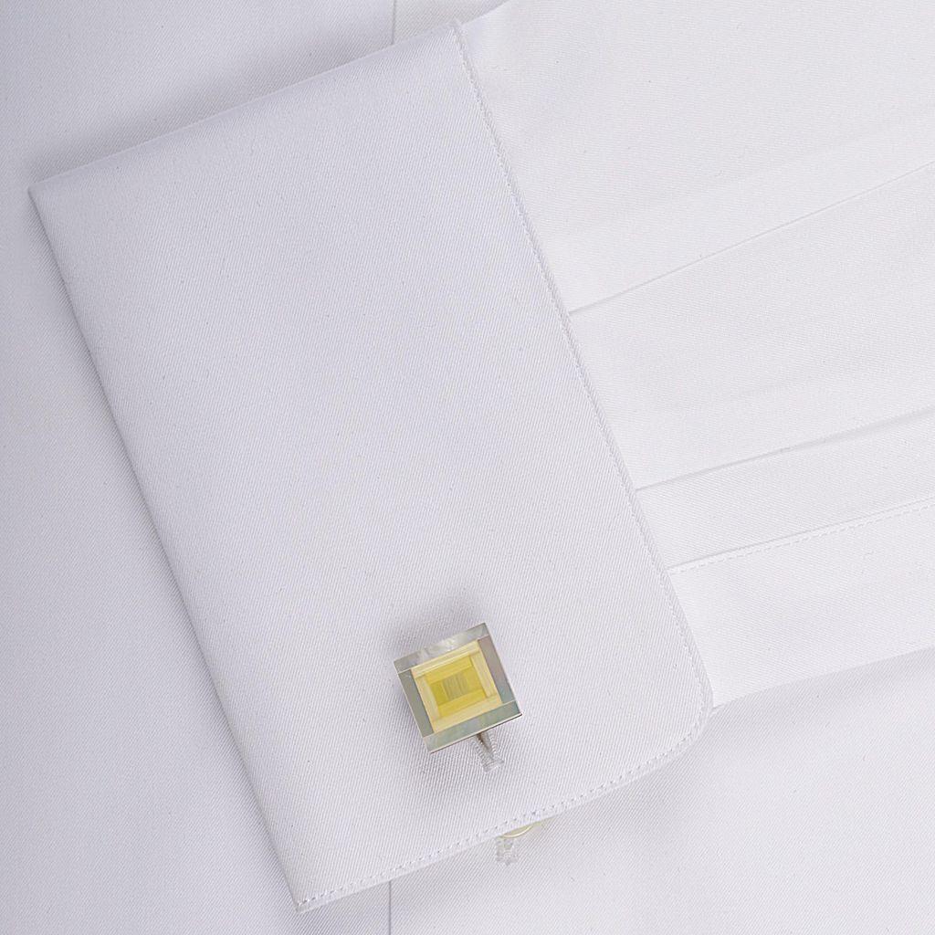 Shimmer Stone & MOP Cufflinks