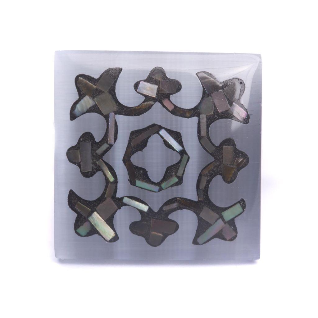 MOP Fiber Optic Cufflinks