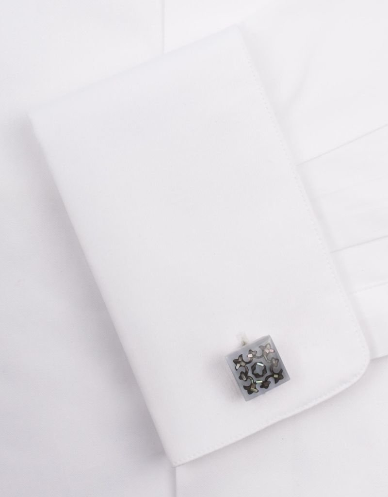 MOP Fiber Optic Cufflinks