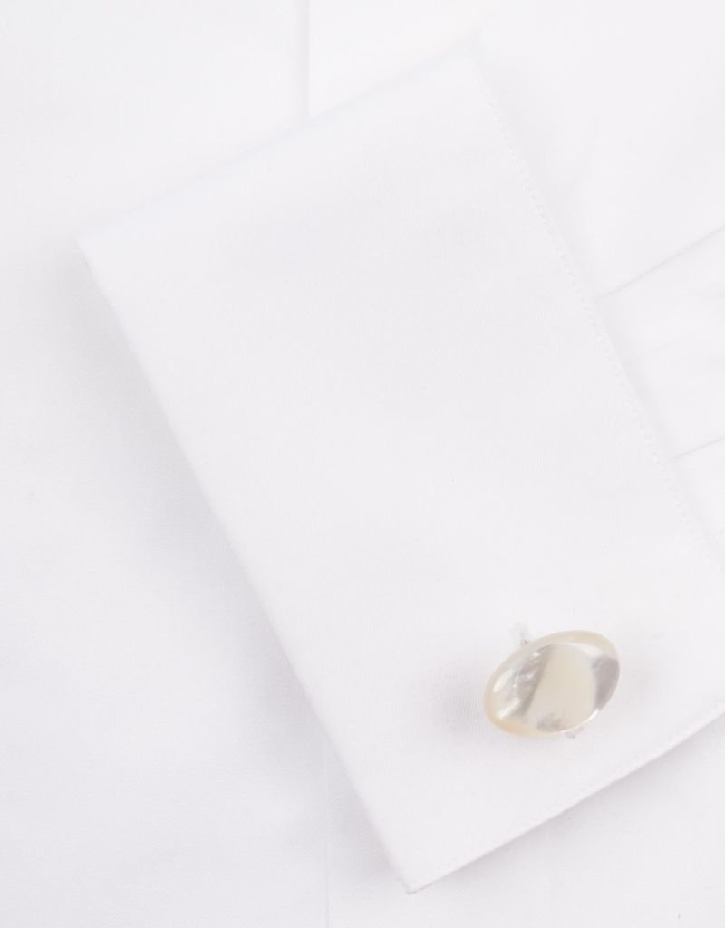 MOP Pebble Cufflinks