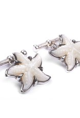 Starfish Mother of Pearl Cufflinks