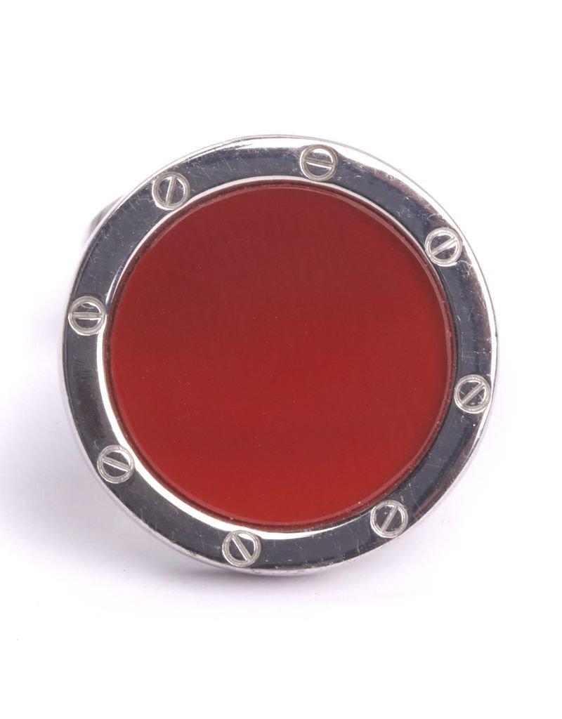 Red Agate Cufflinks