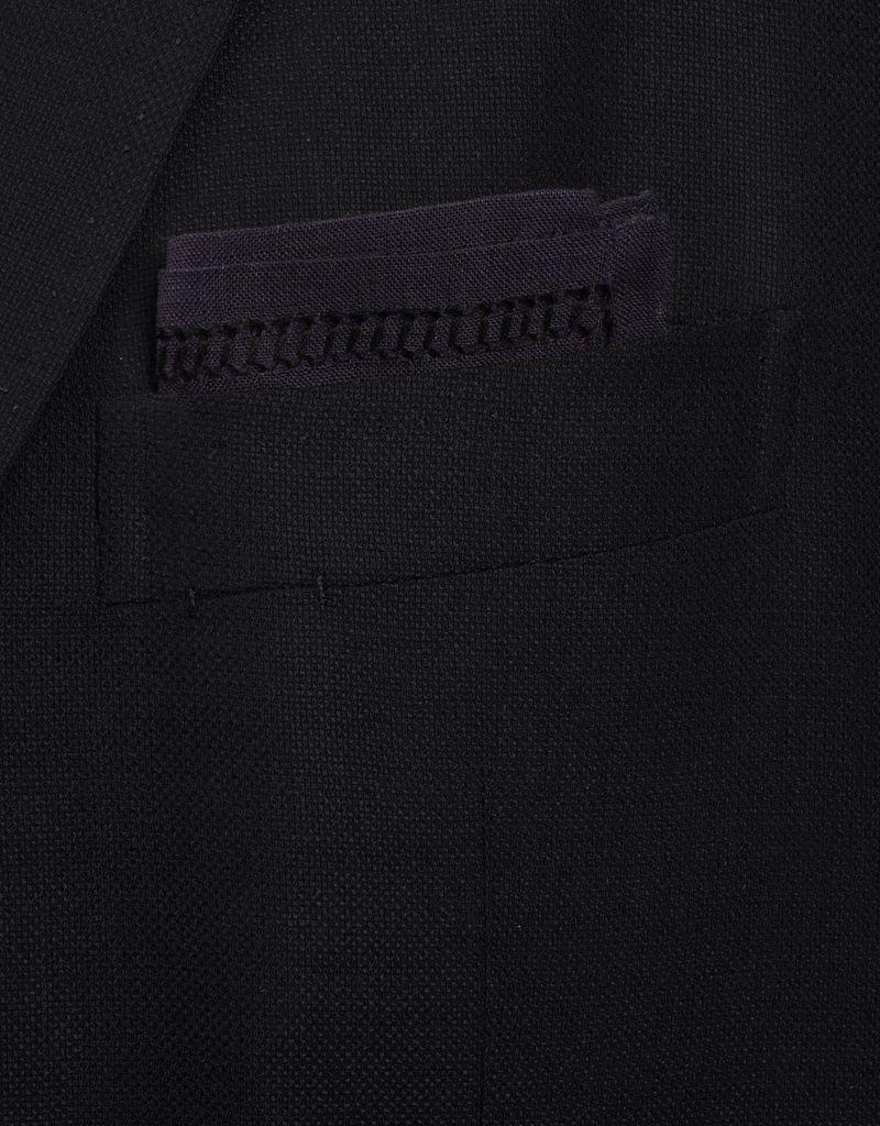 Linen Pocket Square, Midnight