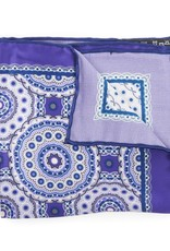 Satin Medallion Print, Purple