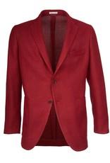 Unlined Tweed Jacket, Red