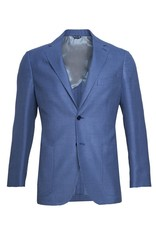 Inclusivo Woven Jacket with Blue on Blue star Motif