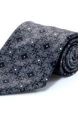100% Silk Tie with Hand-set Swarovski Crystals