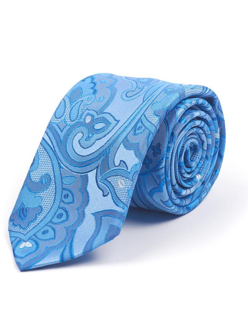 Light Blue Woven Tie