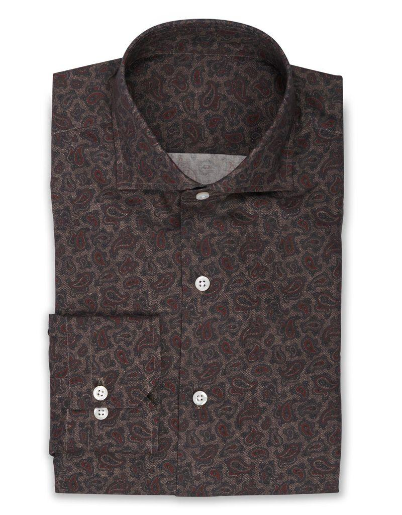 Printed Paisley Shirt