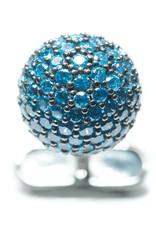 Gem Encrysted Dome Cufflinks