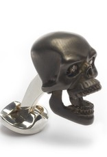 Gunmetal Skull Cufflinks