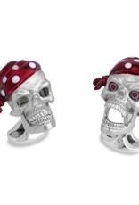 Pirate Skull Cufflinks