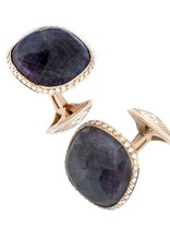 Rose Gold Ruby Cufflinks
