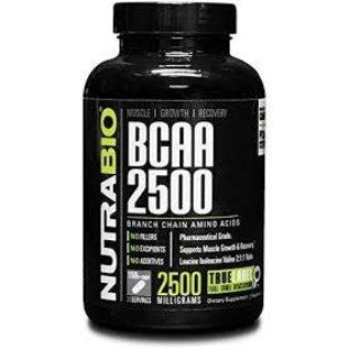 NutraBIO BCAA 2500