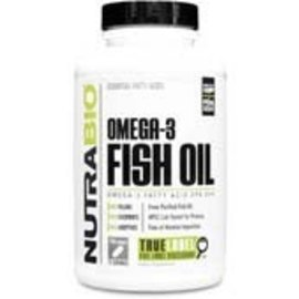 NUTRABIO Omega-3 Fish Oil 75 Servings