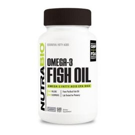 NutraBio Omega-3 Fish Oil 250 Servings