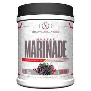 Purus Labs Muscle Marinade Natural Blackberry Cherry