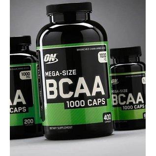 Optimum Nutrition Mega-Size BCAA 1000 Caps (200 Servings)