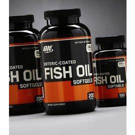 Optimum Nutrition Enteric-Coated Fish Oil (200 Softgels)