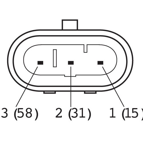 2 pin automotive electrical connectors  diagrams  wiring