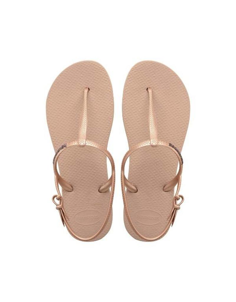Havaianas Women's Freedom Rose Gold size XL