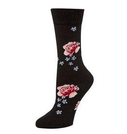 McGregor Socks Women's Wool Floral Black FA17