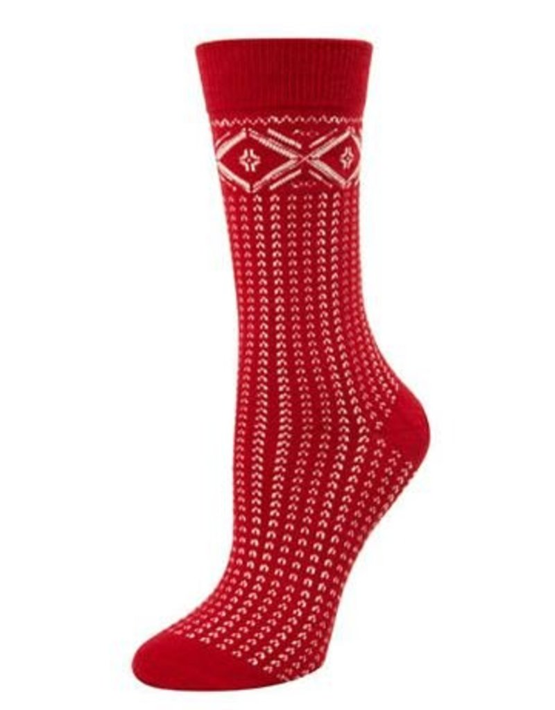 McGregor Socks Women's Fairisle Tube Sock FA17 Red