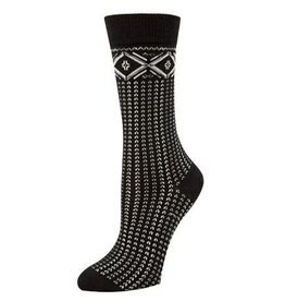 McGregor Socks Women's Fairisle Tube Sock FA17 bLACK