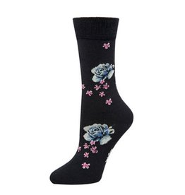 McGregor Socks Women's Wool Floral Navy FA17